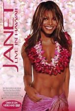 Janet Live In Hawaii Movie Poster 27x40 Used