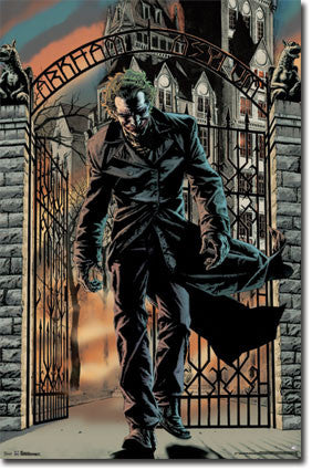 Joker – Arkham Asylum Movie Poster 22x34 RP5760 UPC017681057605 Batman DC