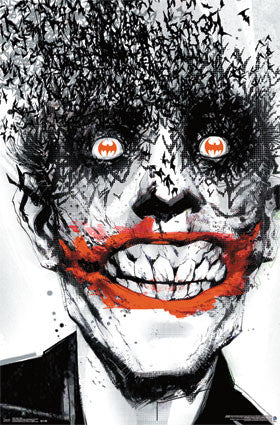Joker - Bats Movie Poster 22x34 RP13227 UPC882663032273 Batman DC