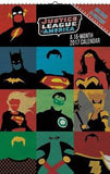 Justice League of America 16-Month 2017 Calendar 11x17 New 877007 UPC057668877079