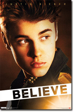 Justin Bieber – Believe Poster 22x34 RS5466  UPC:017681054666