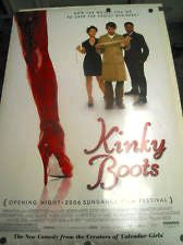 Kinky Boots Movie Poster 27x40 Used Sarah-Jane Potts, Joel Edgerton, Robert Pugh, David MacCreedy, Leo Bill, Barry McCarthy, Christopher Fosh, Jake Canuso, Kellie Bright, Joe Grossi, Nick Frost, Anthony Palmer