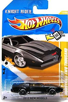 New 2012 Hot Wheels Knight Rider K.I.T.T. Knight Industries Two Thousand Time Movie Car