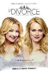 Le Divorce 2003 Movie Poster 27x40 Used Glenn Close, Kate Hudson, Naomi Watts