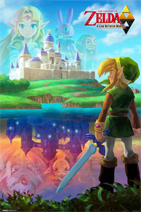 Legend Of Zelda - Two Worlds Game Poster 23.5x35.5 RP10059 UPC882663000593