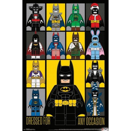 Lego Batman - Any Occasion Wall Poster 22x34 RP15068 UPC882663050680