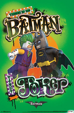Lego Batman - Faceoff Wall Poster 22x34 RP14887 UPC882663048878 Joker