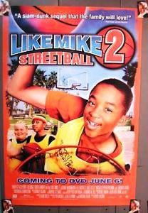 Like Mike 2 Streetball Movie Poster 27x40 Used Michael Adamthwaite, Brett Kelly, Shaw Madson, Moneca Delain, Jascha Washington, Tom Pickett, Barbara Kottmeier, Rob Morton, Enid-Raye Adams, Enuka Okuma