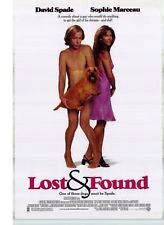 Lost and Found Movie Poster 27x40  Used Neil Diamond, Mitchell Whitfield, Alessandra Torresani, Rose Marie, Audrey Wasilewski, Jon Lovitz, Martin Sheen, David Spade, Phil Leeds, Jim Meskimen, Danny Woodburn
