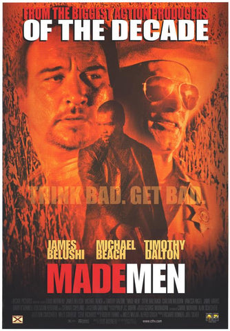 Made Men 1999 Movie Poster 27x40 Used Timothy Dalton, James Belushi