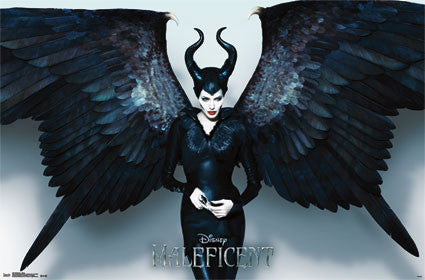 Maleficent Wings Movie Poster 22x34 Rp2337 Disney