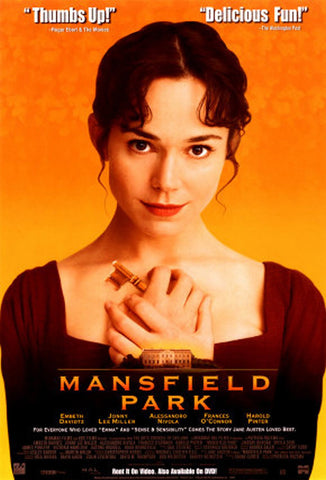 Mansfield Park 1999 Movie Poster 27x40 Used