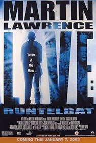 Martin Lawrence Live Runteldat Movie Poster 27x40 Used Christopher Halsted, Paul Keeley, Nancy O'Dell, Art Cohan, Martin Lawrence