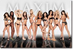 Maxim – Group 10 Poster 22x34 RP5278