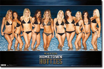 Maxim – Hotties Group 11 Poster 22x34 RP1966 UPC017681019665