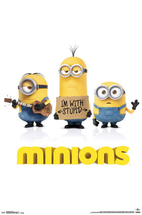 Minions One Sheet Movie Poster 22x34 Rp13781