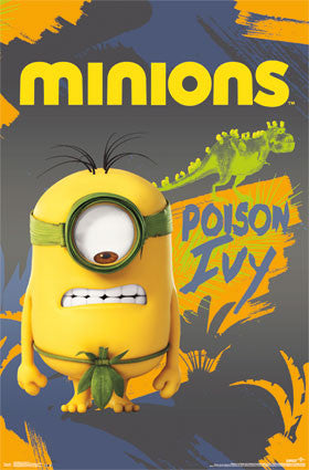 Minions - Poison Ivy Movie Poster 22x34 RP13952 UPC882663039524 Despicable Me