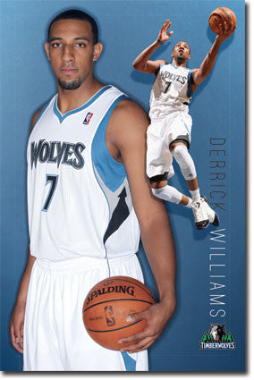 Minnesota Timberwolves – D Williams 11 Poster 22x34 RP5502 UPC017681055021