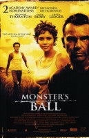 Monsters Ball Movie Poster 27x40	 Used John McConnell, Sean 'P Diddy' Combs, Earl Maddox, Anthony Michael Frederick, Heath Ledger, Marcus Lyle Brown, John Wilmot, Halle Berry, James Haven, Carol Sutton, Peter Boyle, Paul Smith, Mos Def, Billy Bob Thornton