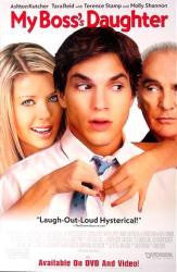 My Boss's Daughter 2003 Movie Poster 27x40 MCP0023 Used Tara Reid, Ashton Kutcher, Carmen Electra,