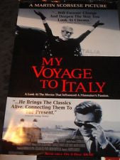 My Voyage to Italy Movie Poster 27X40 Used Martin Scorsese