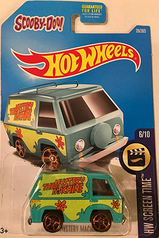 New 2012 Hot Wheels Mystery Machine Scooby-Doo HW Screen Time Movie Car