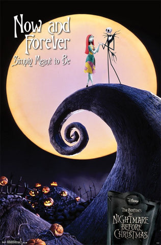 NBC - Now and Forever Movie Poster 22x34 RP14306 UPC882663043064 Nightmare Before Christmas