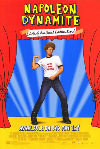 Napoleon Dynamite Movie Poster 27x40 2004 Original used