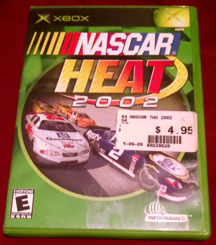 NASCAR Heat 2002 (Xbox, 2001) Video Game UPC: 742725230279