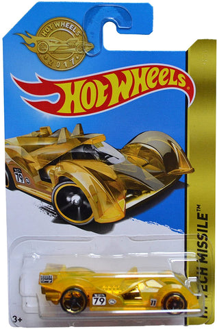 New 2017 Hot Wheels Hi Tech Missile Gold Series Limited Edition