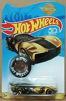 New 2018 Hot Wheels Sky Dome Gold