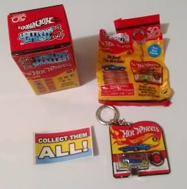 New 2018 Hot Wheels World's Smallest Keychain Rip Rod SKU 100