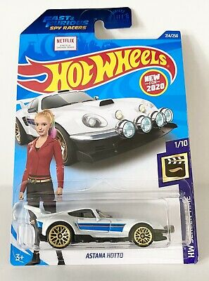 New 2020 Hot Wheels Astana Hotto Netflix Fast 7 Furious Spy Racers HW Screen Time