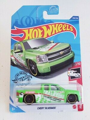 New 2020 Hot Wheels Chevy Silverado HW Rescue Treasure Hunt