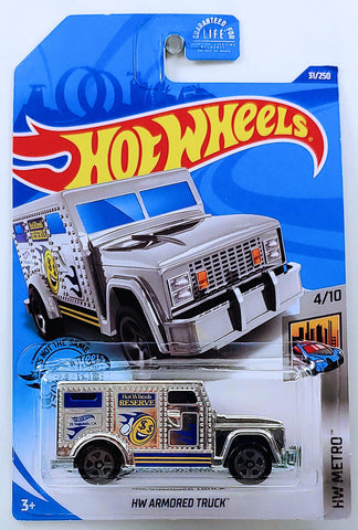 New 2020 Hot Wheels HW Armored Truck HW Metro