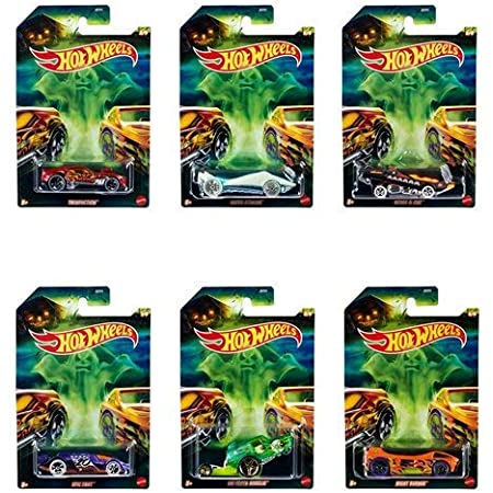 New 2020 Hot Wheels Halloween Set of 6 Cars