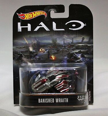 New 2020 Hot Wheels Halo Banished Wraith Halo Wars 2 Retro Entertainment