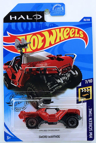 New 2020 Hot Wheels Halo Sword Warthog HW Screen Time
