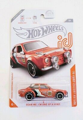 New 2020 Hot Wheels ID Car '70 Ford Escort RS1600