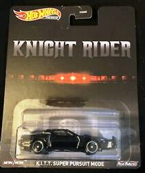 New 2020 Hot Wheels Knight Rider K.I.T.T. Super Pursuit Mode Retro Entertainment