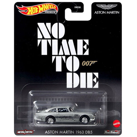 New 2020 Hot Wheels No Time To Die James Bond 1963 Aston Martin DB5 007 Retro Entertainment