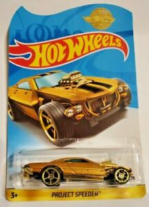 New 2020 Hot Wheels Project Speeder Gold