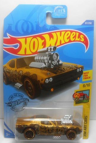 New 2020 Hot Wheels Rodger Dodger Steam Punk HW Art Cars Kroger Exclusive Color
