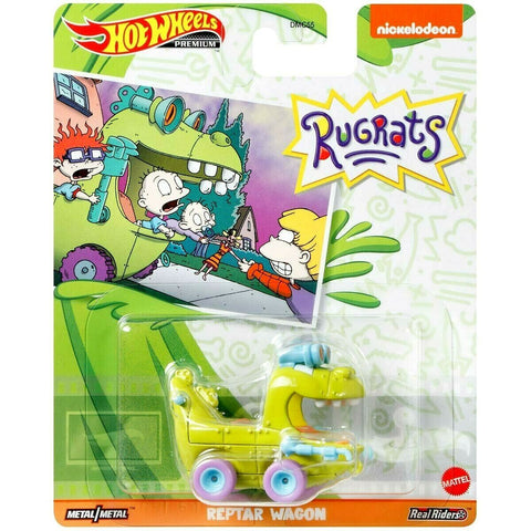 New 2020 Hot Wheels Rugrats Reptar Wagon Nickelodeon Retro Entertainment