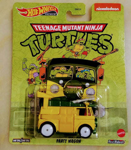 New 2020 Hot Wheels Teenage Mutant Ninja Turtles Party Wagon TMNT Retro Entertainment