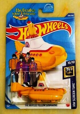 New 2020 Hot Wheels The Beatles Yellow Submarine HW Screen Time Treasure Hunt