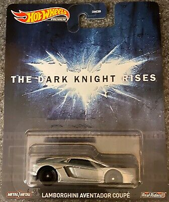 New 2020 Hot Wheels The Dark Knight Rises Lamborghini Aventador Coupe Retro Entertainment