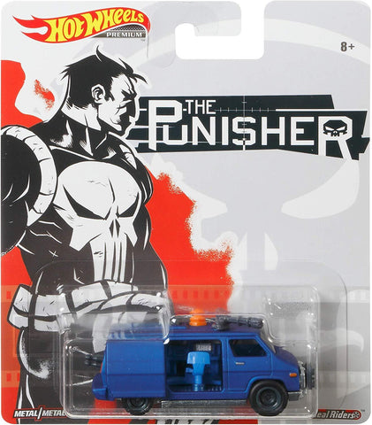 New 2020 Hot Wheels Punisher Van The Punisher Marvel