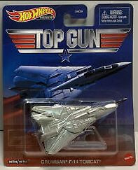 New 2020 Hot Wheels Top Gun Grumman F-14 Tomcat Retro Entertainment