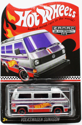 New 2020 Hot Wheels Volkswagen Sunagon Zamac Walmart Exclusive
